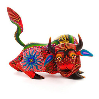 Alebrije Orange Bull