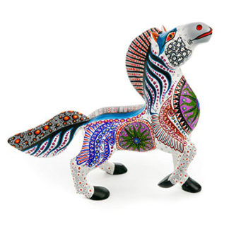 Alebrije White Horse