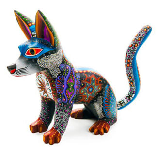 Alebrije Black Dog