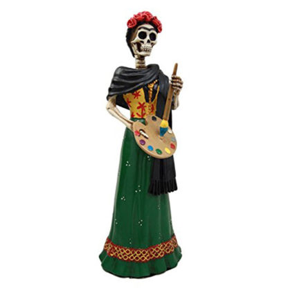Dia De Los Muertos La Pintora Mexican Figurine