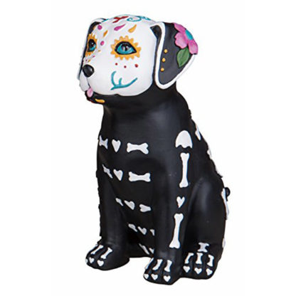Day of the Dead Puppy Dog Figurine