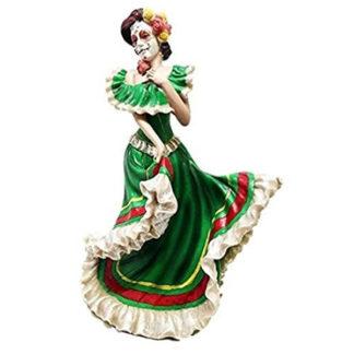 Dia De Los Muertos Mexico Dancer Figurine