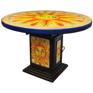 Mexican Multicolor Sun Dining Table