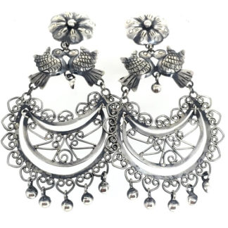 Mexican Friday kahlo Vintage Earrings
