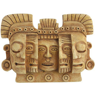 Mayan Mask of Death and Rebirth