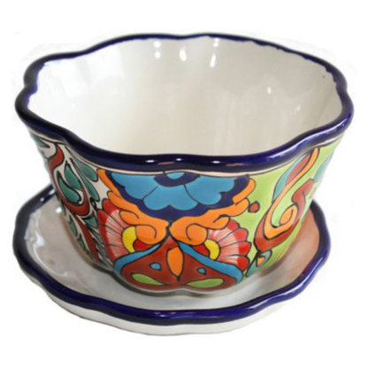 Petunia Talavera Ceramic Pot