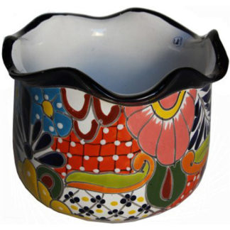 Aranza Talavera Mexican Ceramic Pot
