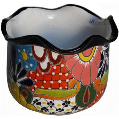 Aranza Talavera Mexican Ceramic Pot
