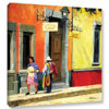 Streets of Mexico Canvas Art by Rick Kersten