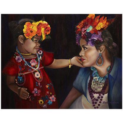 "My Beautiful Mama"" Barbara Rivera Original Artwork Print"