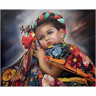 Isabella - Barbara Rivera Original Artwork Print