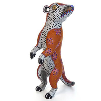 Meerkat Oaxaca Alebrije Wood Carving