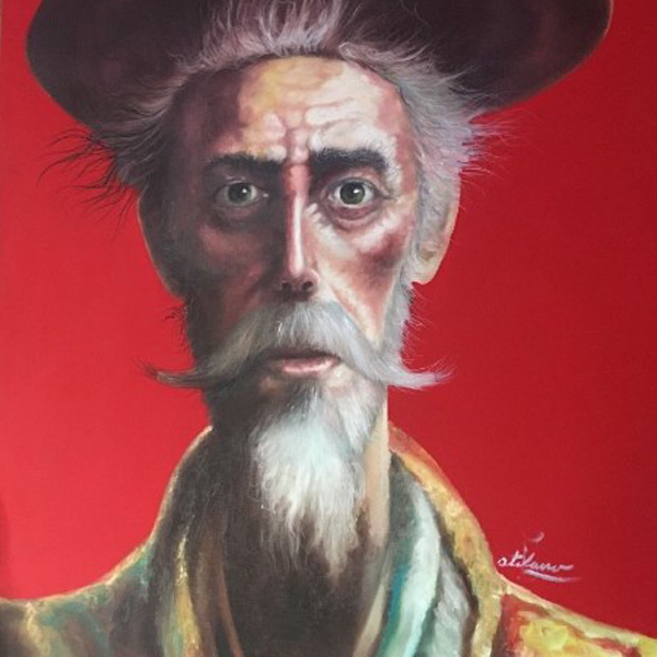 Don Quijote Original Acrylic Painting